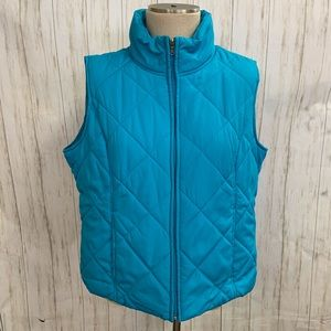 SJB Active Blue Quilted Vest